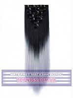 Трессы - волосы на заколках Helen (Термоволосы): цвет 1BT3904