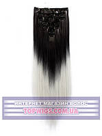 Трессы - волосы на заколках Helen (Термоволосы): цвет 1BT4503