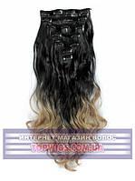 Трессы - волосы на клипсах Rebecca (Термоволосы): цвет 1BT16