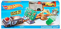 Трек Earthquake Alley, Hot Wheels, Mattel