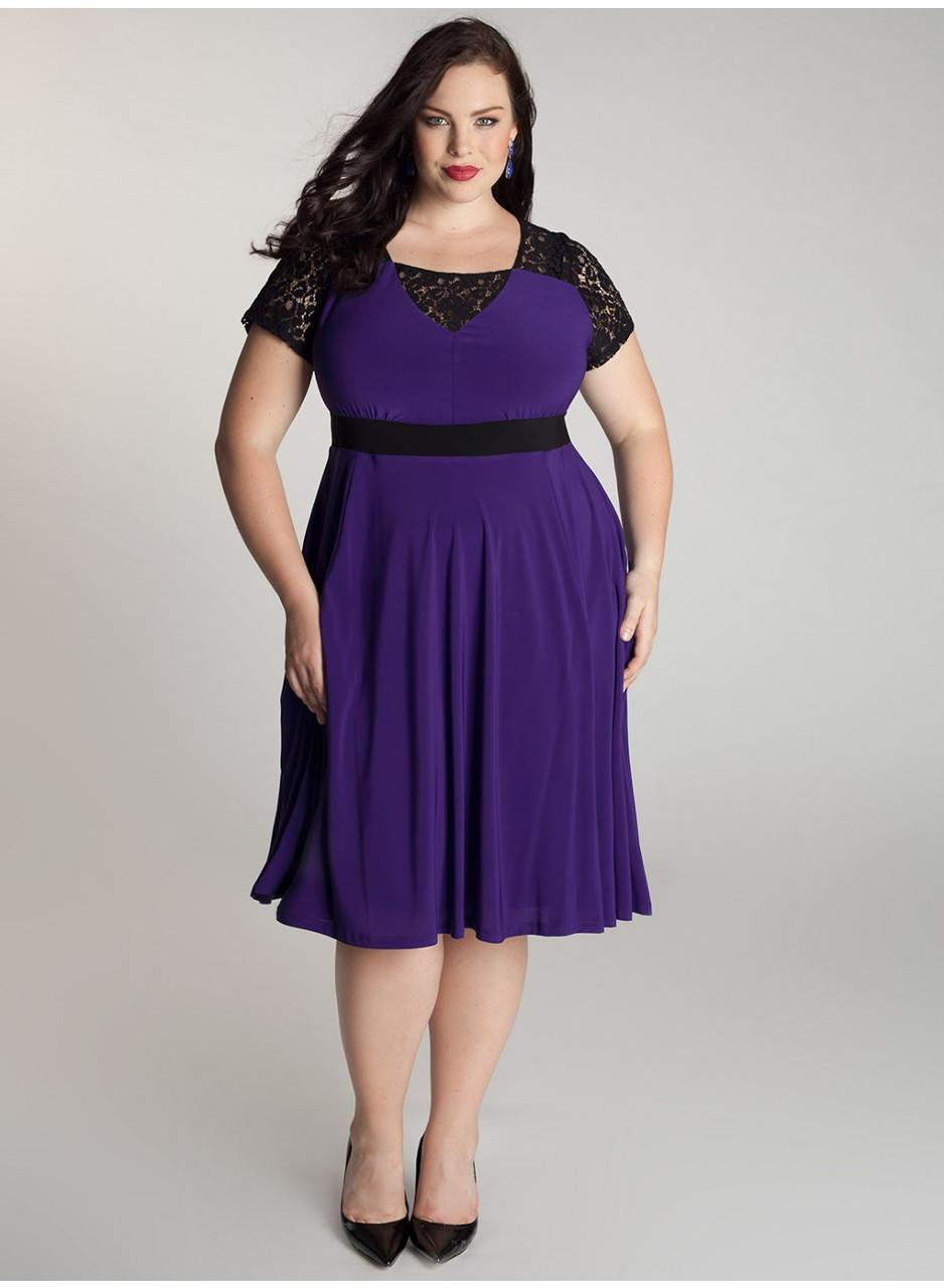 0c5bfd50db95 Новинки лета 2014. Мода для полных, женская одежда больших размеров ...