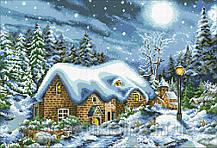 Схема для вышивания бисером Зимняя радость