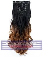 Трессы - волосы на клипсах Rebecca (Термоволосы): цвет 1BT30