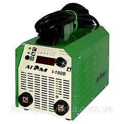 Сварочный инвертор Атом I-180D(без кабелей,без байонетов)