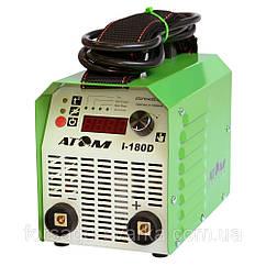 Сварочный инвертор Атом I-180D(без кабелей,с байонетными штекерами Abicor Binzel)