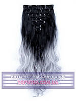 Трессы - волосы на клипсах Rebecca (Термоволосы): цвет 1BT3904