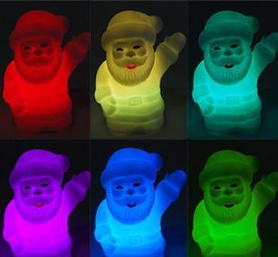 Міні світильник хамелеон Дід Мороз, минисветильник