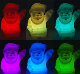 Міні світильник хамелеон Дід Мороз, минисветильник, фото 2