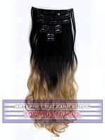 Накладные волосы на клипсах - трессы Rebecca (Термоволосы): цвет 2T22