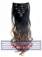 Накладные волосы на клипсах - трессы Rebecca (Термоволосы): цвет 2T30