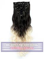 Накладные волосы на клипсах - трессы Rebecca (Термоволосы): цвет 2T613