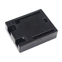 Чорний пластиковий корпус для Arduino UNO