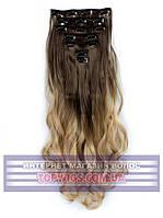 Накладные волосы на заколках - трессы Rebecca (Термоволосы): цвет 8T24