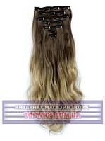 Накладные волосы на заколках - трессы Rebecca (Термоволосы): цвет 10T25
