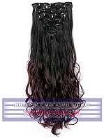 Накладные волосы на заколках - трессы Rebecca (Термоволосы): цвет 2T99J