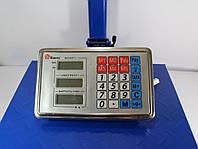 Торговые напольные электронные весы на 300 кг Domotec