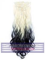 Накладные волосы на заколках Rebecca (Термоволосы): цвет 613TBlack