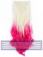 Трессы - волосы на клипсах Rebecca (Термоволосы): цвет 613TPink