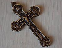 """Религиозные товары """"Крестик нательный резной из дерева"""", фото 1"""