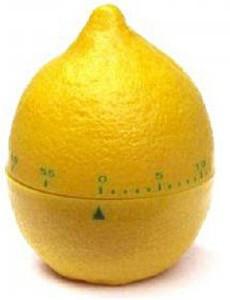 Кухонний таймер механічний Лимон