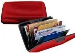 Кошелек Aluma Wallet, красный