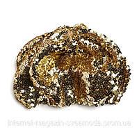 Берет с паетками золотистый Lindex, безразмерный