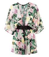 Блуза цветастая H&M, Размер: XS