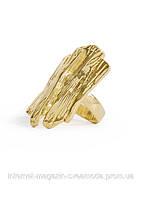 Кольцо золотистое MANGO, Объем 5 см.