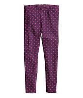 Леггинсы фиолетовые H&M, Размер: 128
