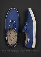 Мокасины мужские синие Mango H.E., Размер 42 ( стелька 26 см)