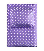 Набор постельного белья фиолетовый H&M, 150х200 (нав. 50х60)