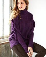 Пуловер фиолетовый VICTORIA'S SECRET, размер S
