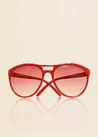 Очки солнцезащитные с красной оправой MANGO, безразм.