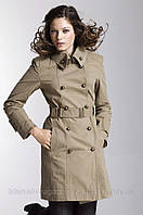Пальто хаки осеннее ELLOS, Размер: 38