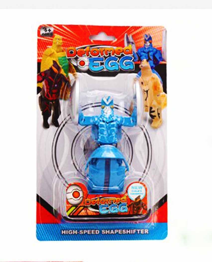 Супер Герой Трансформер Ultraman (синій)