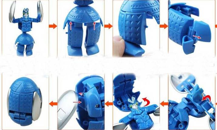 Супер Герой Трансформер Ultraman (синій), фото 2