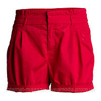 Женские стильные шорты LINDEX красного цвета, Размер: 34 (XS)