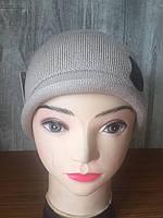 Вязанная шапка Полина