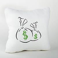 Подушка подарочная «Мешок с деньгами»