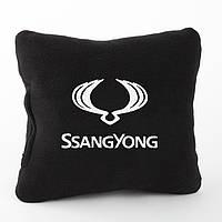 Подушка с лого SsangYong