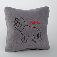 Подушка-гороскоп с вышивкой «Лев»