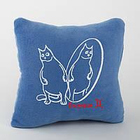 Подушка-гороскоп с вышивкой «Близнецы»