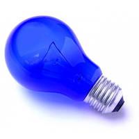 Синяя лампочка на 60 Вт