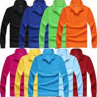 Поло мужская с длинным рукавом (тенниска поло,рубашка поло, футболка поло) цвет любой на