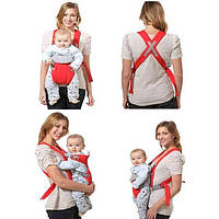 Эргономичный слинг-рюкзак для переноски ребенка Baby Carriers EN71