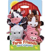 Кукла-рукавичка Melissa  Doug Животные фермы (MD19080) (код 182-288064)