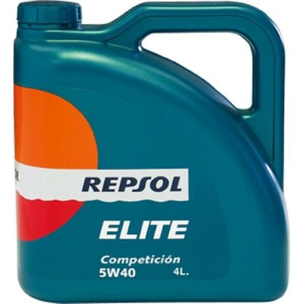 Моторное масло REPSOL ELITE COMPETICION 5W40 (4л) Volkswagen, Renault, BMW, Mercedes, Peugeot, Citroen, Opel