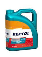 Моторное масло REPSOL ELITE EVOLUTION POWER 4 5W30 (5л) для автомобилей RENAULT с допуском RN0720
