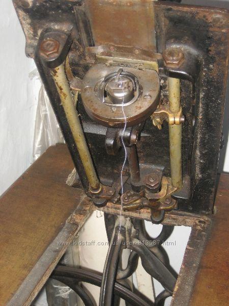 инструкция старинной ножной швейной машинки