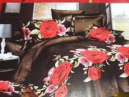 Постельное САТИН 3Д в подарочной упаковке, Арт. 06, Кармен/с 4 наволочками E-AD20 06 Кармен